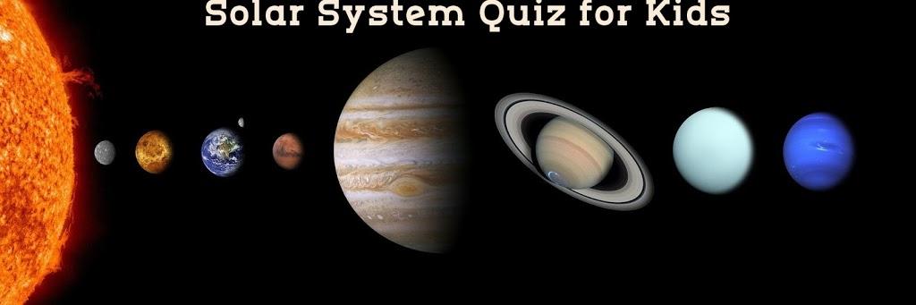 Solar 2BSystem 2Bquiz
