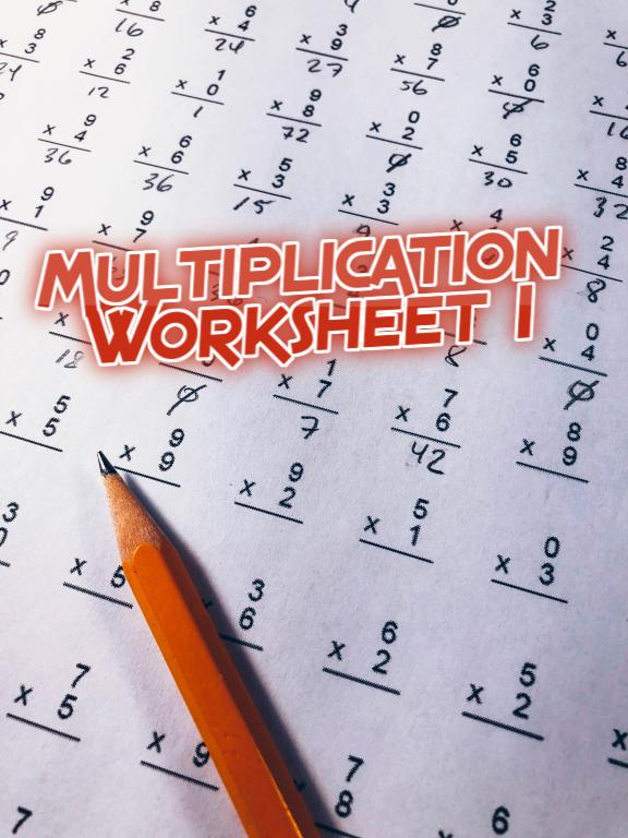 Math Quiz Multiplication worksheet for grade 2 (Questions and Answers)