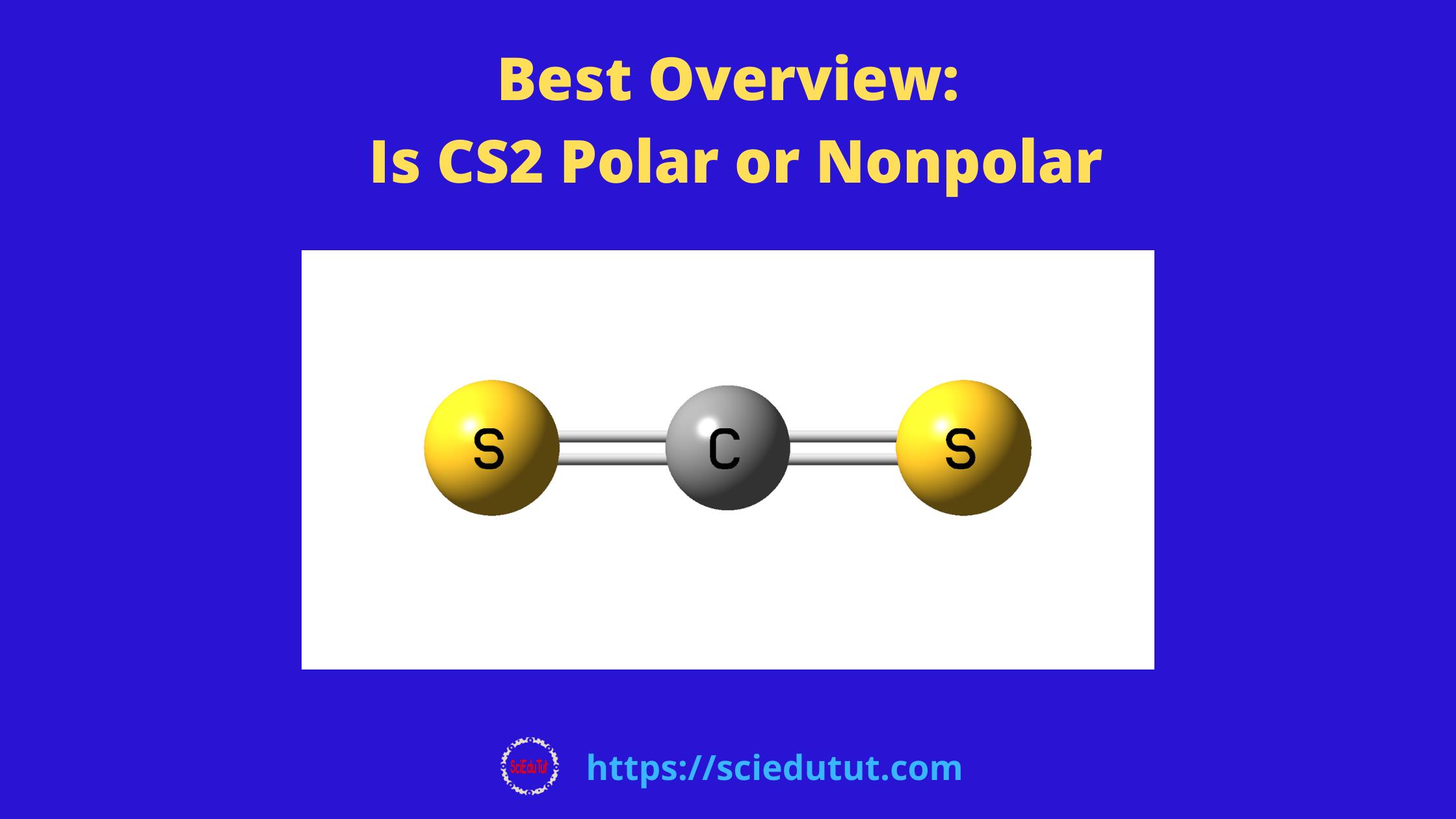 Best Overview: Is CS2 Polar or Nonpolar?