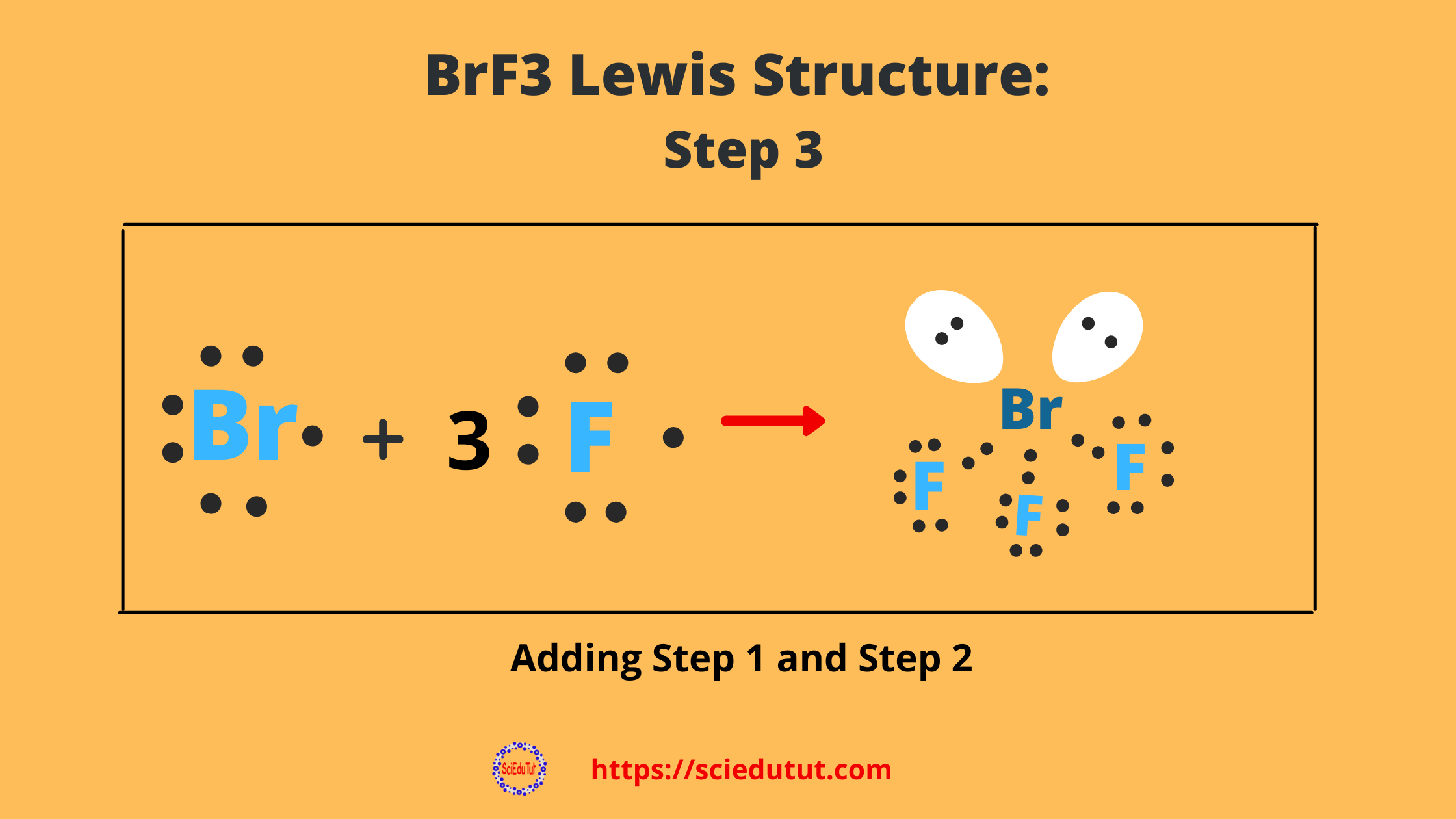 How to draw BrF3 Lewis Structure?