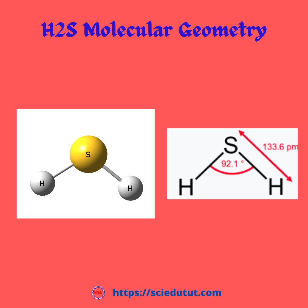 H2S molecular geometry