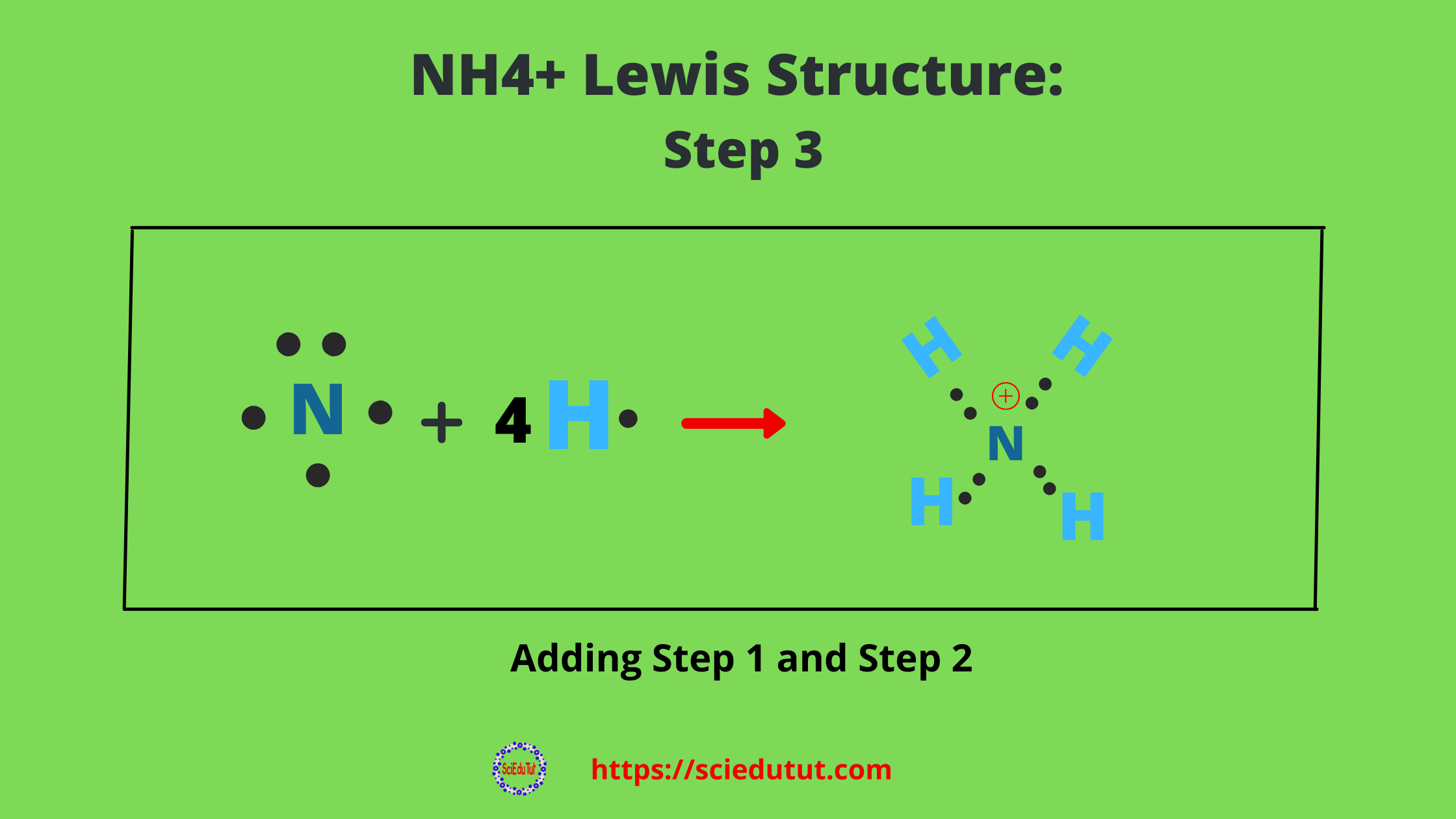 How to draw NH4+ Lewis Structure?