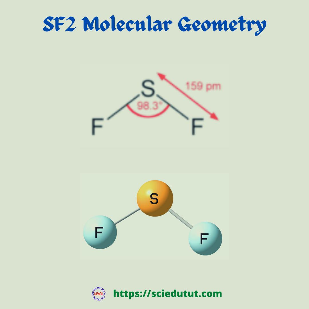 SF2 Molecular geometry
