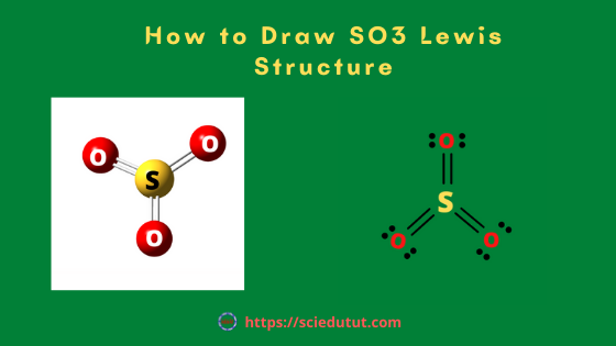 How to draw SO3 Lewis Structure?
