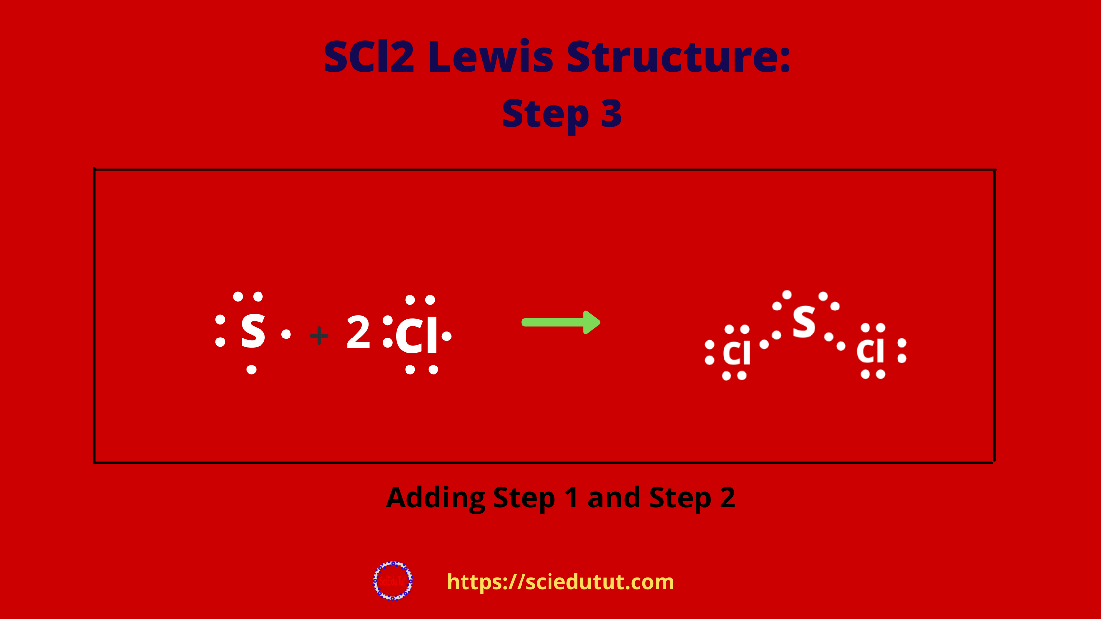 How to draw SCl2 Lewis Structure?