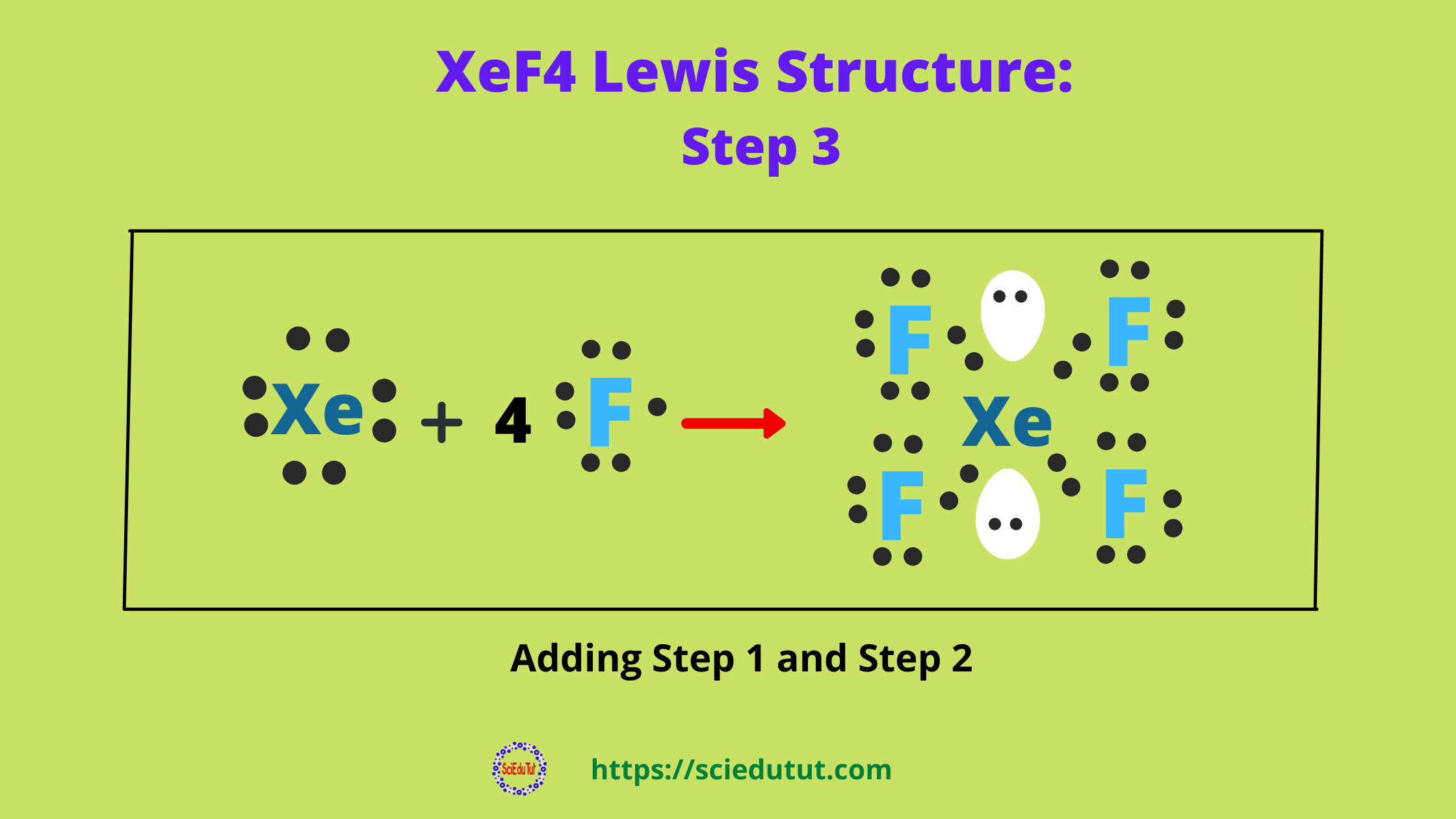 How to draw XeF4 Lewis Structure?