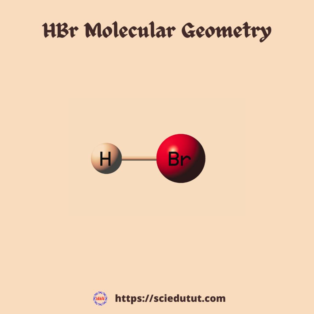 HBr Molecular geometry