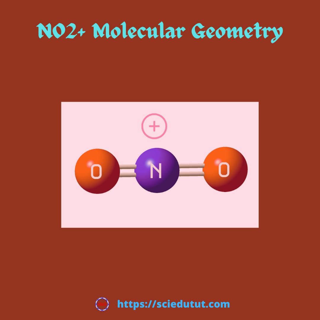 NO2+ molecular geometry