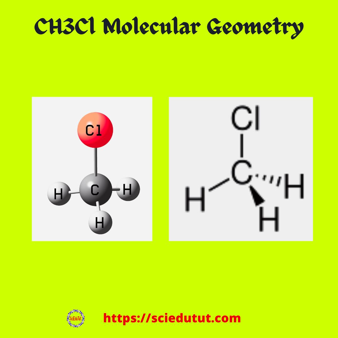 CH3Cl Molecular Geometry
