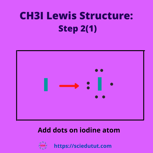 How to draw CH3I Lewis Structure?
