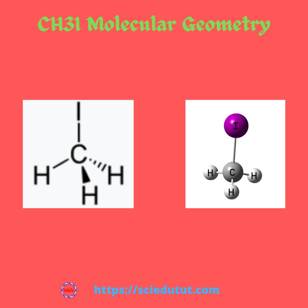 CH3I Molecular Geometry
