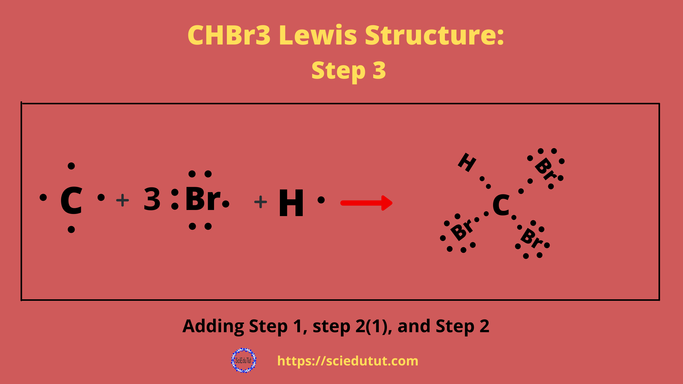 How to draw CHBr3 Lewis Structure?
