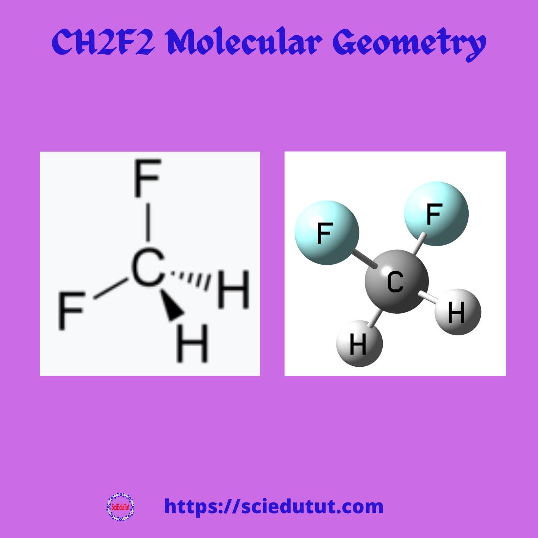 CH2F2 Molecular Geometry