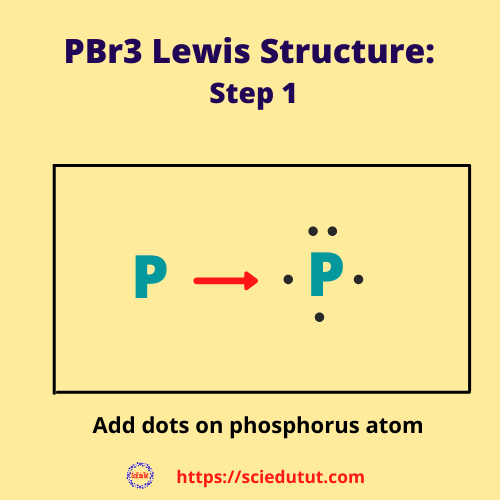 How to draw PBr3 Lewis Structure?