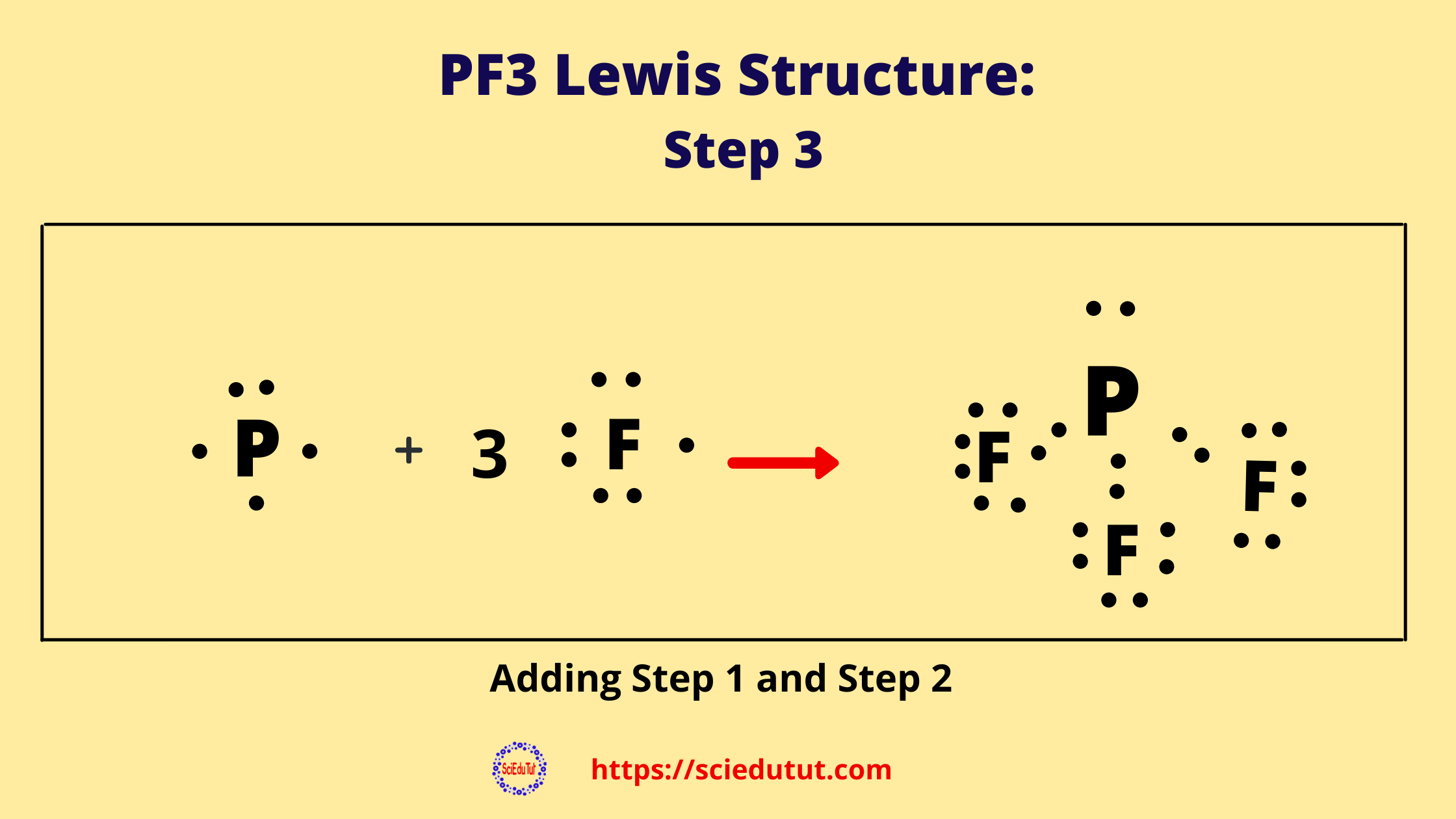 How to draw PF3 Lewis Structure?