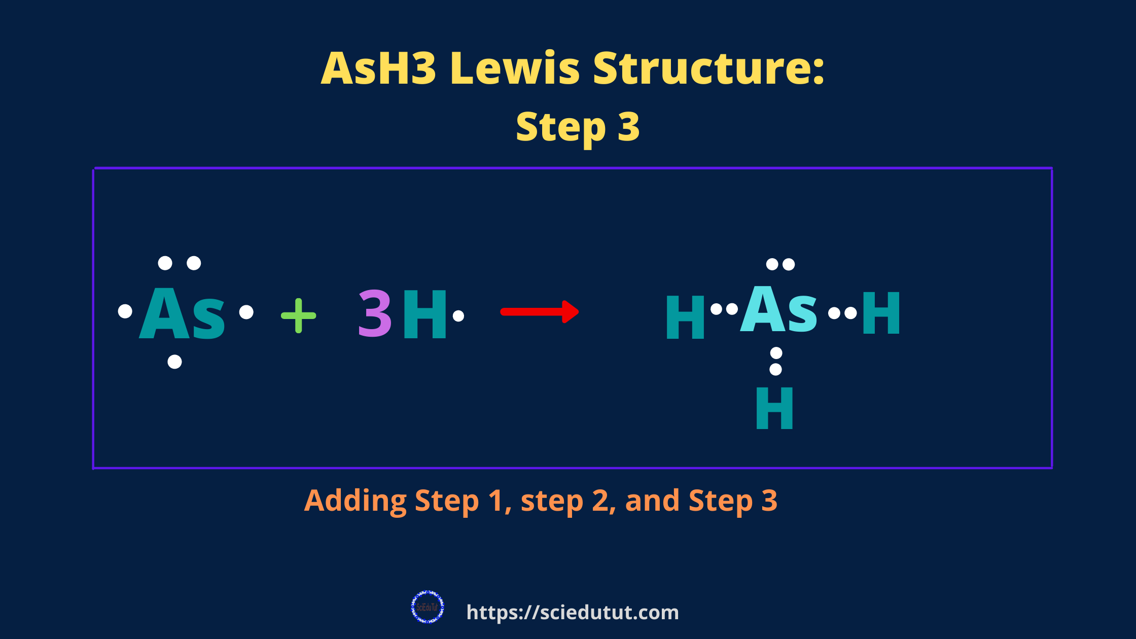 How to draw AsH3 Lewis Structure?