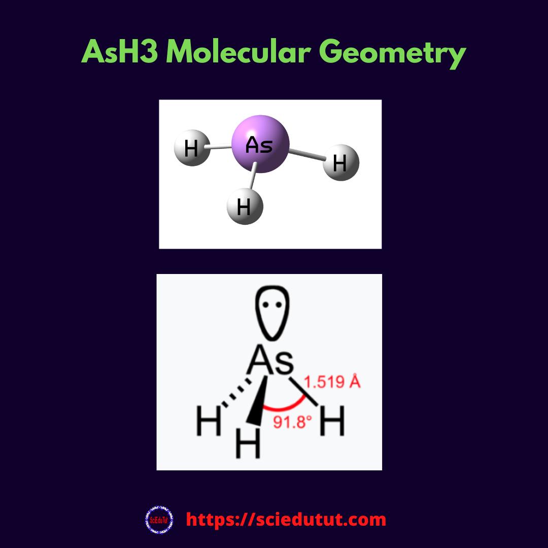AsH3 Molecular Geometry