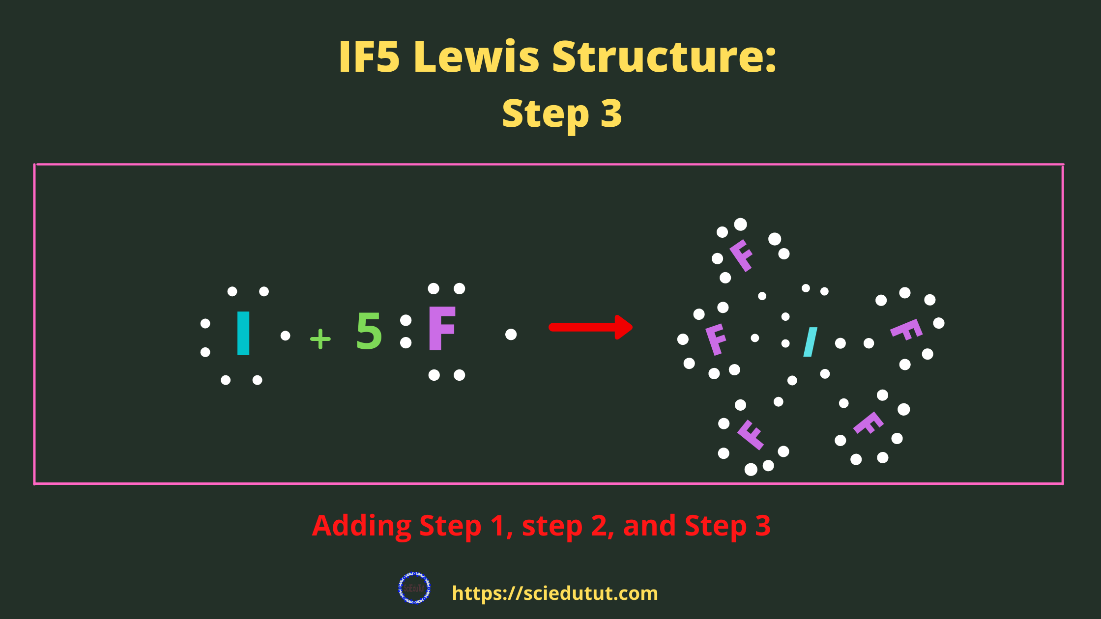 How to draw IF5 Lewis Structure?