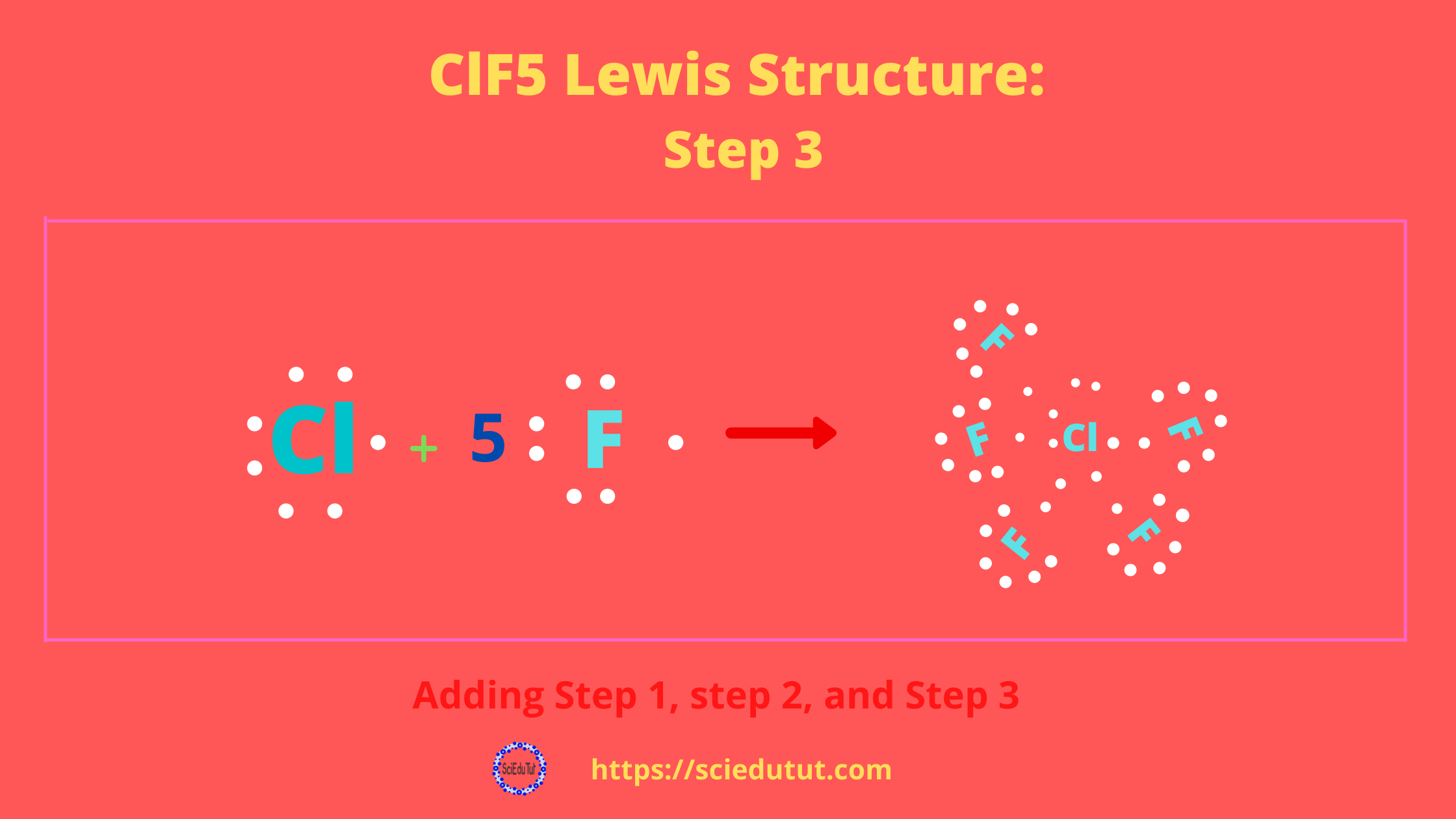 How to draw ClF5 Lewis Structure?